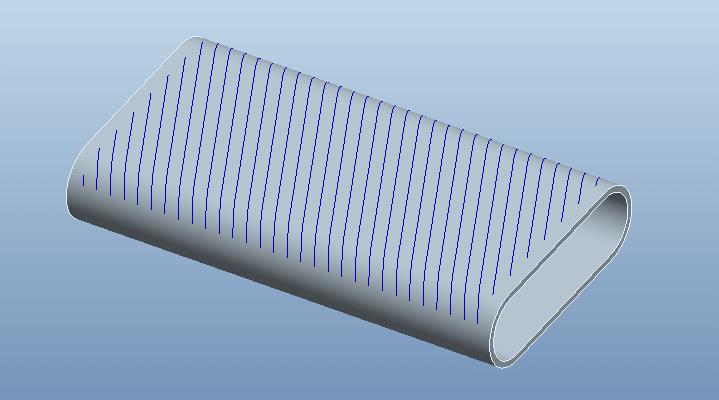 Proe几何约束的曲线阵列