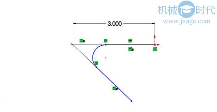 Solidworks草图中如何创建虚拟交点?