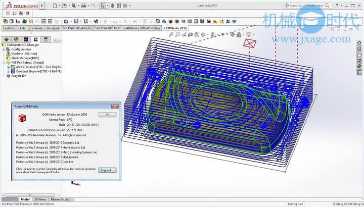 SolidWorks加工插件CAMWorks 2010安装破解教程