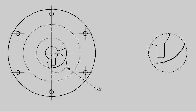 NX制图(6):工程图模块之如何创建局部放大图
