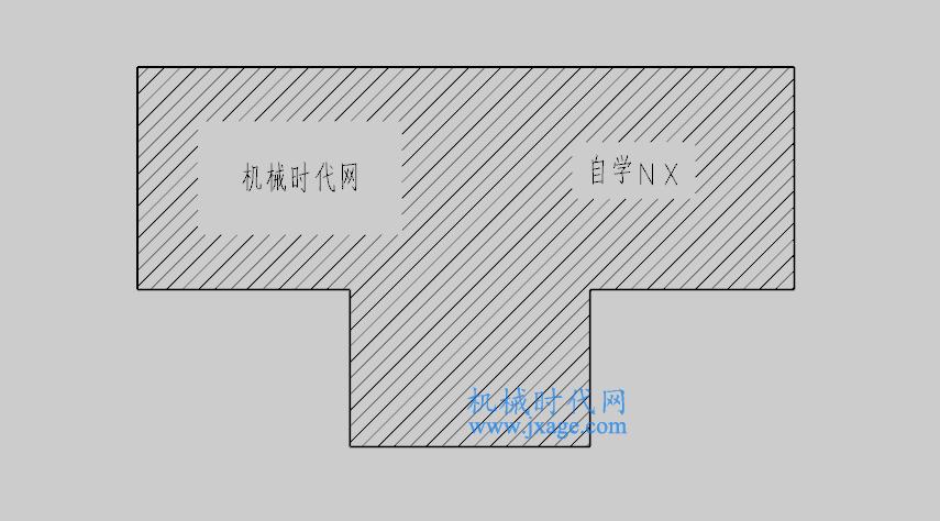 NX制图(17):剖面线命令的用法