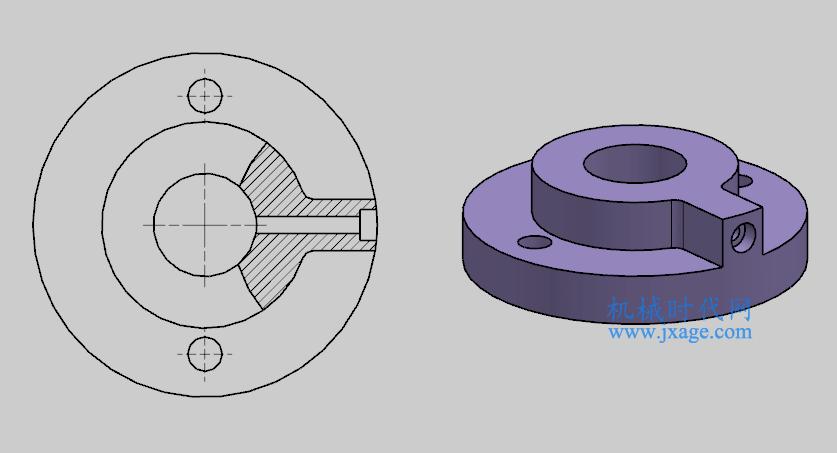 NX制图(8):工程图模块之如何创建局部剖视图
