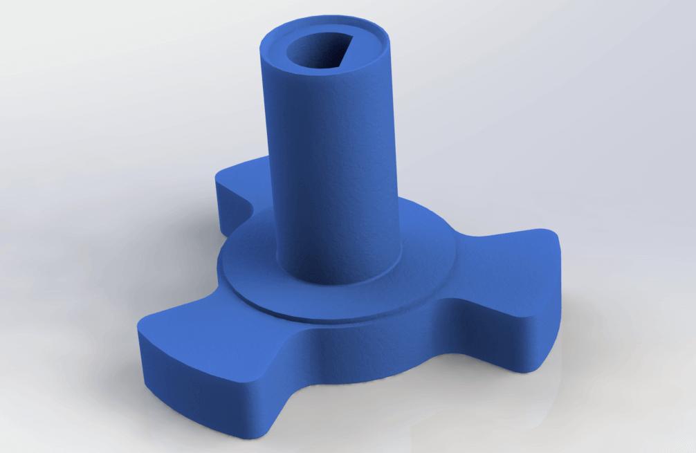 SolidWorks经典建模练习题(1):塑料旋钮