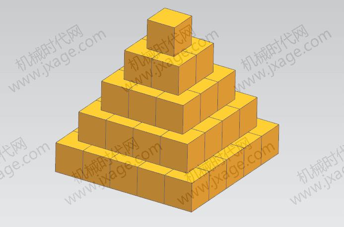 NX建模(28):如何在NX使用Excel电子表格快速创建金字塔?