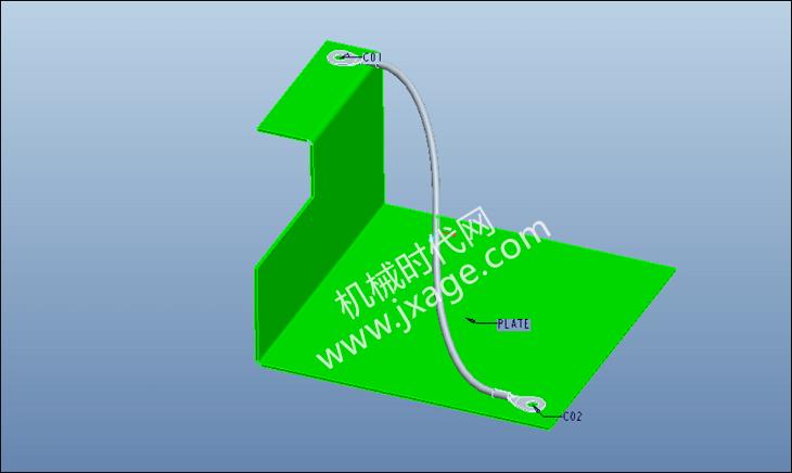 Proe布线教程(1):手工布线的基本流程