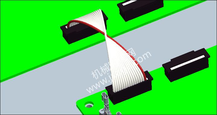 Proe布线教程(4):扁平线缆的布线