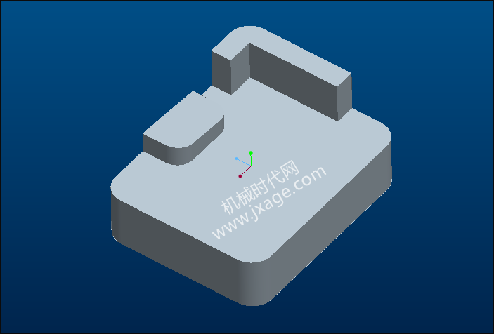 Proe破面修补实例教程(2):移动顶点