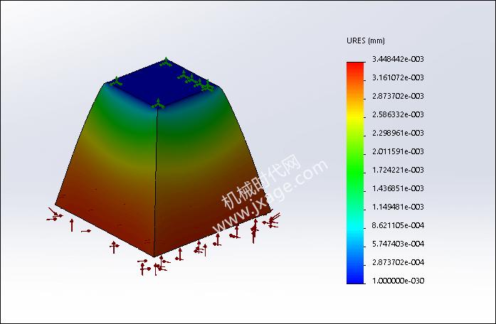 SolidWorks Simulation 有限元分析实例练习(22):浮力计算