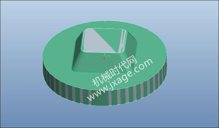 Proe数控加工教程(1):体积块铣削