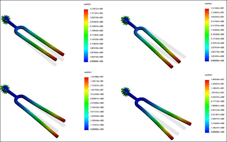 SolidWorks Simulation 有限元分析实例练习(23):频率分析