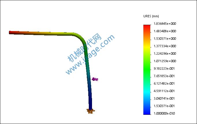 SolidWorks Simulation 有限元分析实例练习(26):动态分析